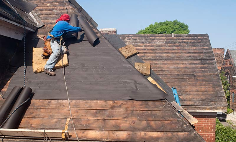 Reroofing Services