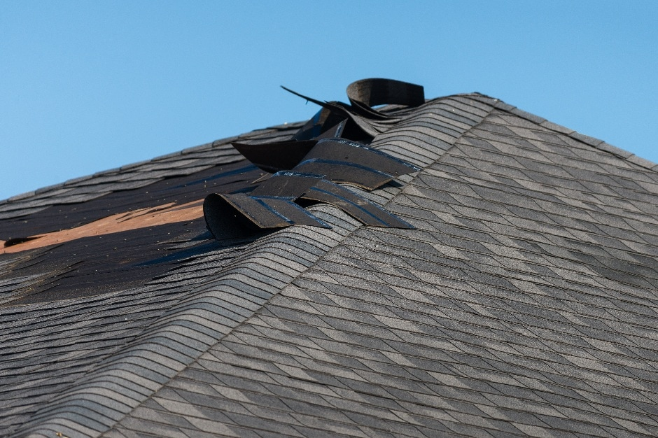 roof damage wind